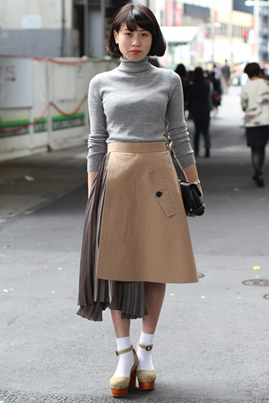 Street Style Spring Summer 2016 Tokyo Fashion Week Japan 15 Oct 2015 Furthr